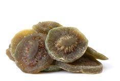 smaklig torkad kiwi Arkivbild