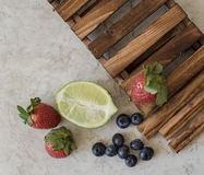 Smakliga frukter Royaltyfri Foto