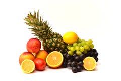 Smakliga frukter Organisk mat bär fruktt naturligt Royaltyfri Fotografi