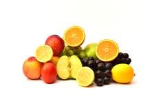 Smakliga frukter Organisk mat bär fruktt naturligt Fotografering för Bildbyråer