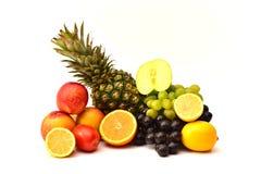 Smakliga frukter Organisk mat bär fruktt naturligt Arkivbild