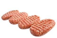 smakliga hamburgare Royaltyfri Bild