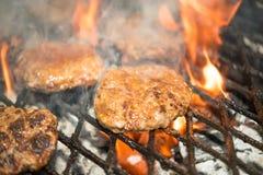 smakliga hamburgare Royaltyfri Fotografi