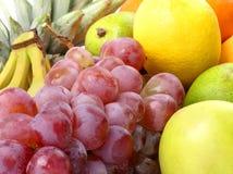 smakligt övre för tät ny fruktbild Royaltyfri Fotografi