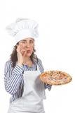 smakligt ditt för italiensk pizza Royaltyfri Fotografi