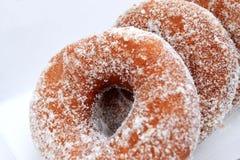 Smakowici donuts w kartonu pudełku Obraz Stock