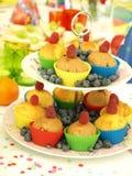 Smakowici muffins Fotografia Stock
