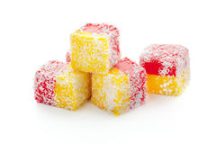 Smakowici orientalni cukierki Obrazy Stock