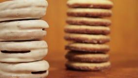 Smakowici Oszkleni ciastka zdjęcie wideo