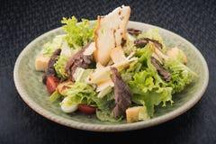 smakowita Caesar sałatka Zdjęcia Stock