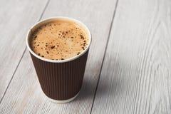 Smakowita filiżanka kawy Obrazy Stock