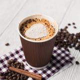 Smakowita filiżanka kawy Zdjęcie Stock