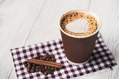Smakowita filiżanka kawy Zdjęcie Royalty Free