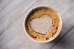 Smakowita filiżanka kawy Obraz Royalty Free