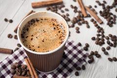 Smakowita filiżanka kawy Obraz Stock