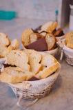 Smakowita kolorowa i wyśmienicie włoska bufet restauracja Fotografia Royalty Free