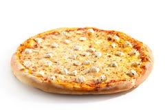 Smakowita pizza z serem fotografia stock