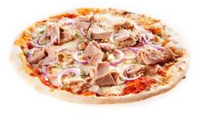 Smakowita Włoska takeaway pizza obraz royalty free