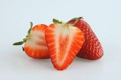 smakowite świeże truskawki Obrazy Stock