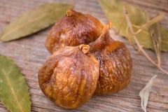 Smakowite Organicznie Wysuszone figi Zdjęcie Stock