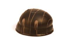 Smakowity czekoladowy cukierki, praline makro- lub zamknięty deserowy up, Zdjęcia Royalty Free