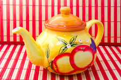 smakowity herbaciany czas Zdjęcie Royalty Free