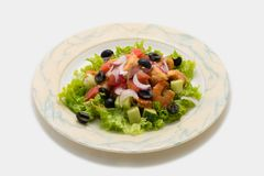 Smakowity i zdrowy jedzenie fotografia stock
