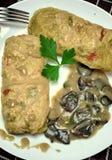 Smakowity jedzenia, odżywiania, kuchennego i kulinarnego pojęcie, Obrazy Royalty Free