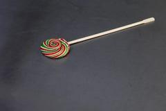 Smakowity kolorowy lizak zdjęcie stock