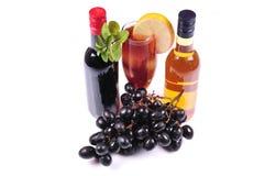 smakowity wino Zdjęcie Stock