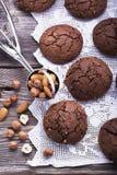 Smaksatta kakor för choklad Royaltyfri Fotografi