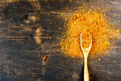smaktillsats En blandning av varma kryddor för att laga mat Arkivfoton