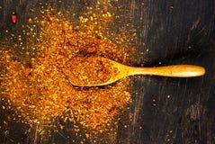 smaktillsats En blandning av varma kryddor för att laga mat Royaltyfria Bilder
