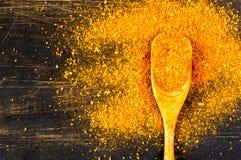 smaktillsats En blandning av varma kryddor för att laga mat Royaltyfri Bild