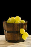 Smal barrel of grape royalty free stock images