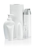 Smal cosmetical composition Stock Photo
