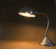 Smal flexible metal lamp Royalty Free Stock Photo