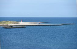 Smal Island Düne of Helgoland Royalty Free Stock Image