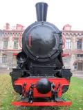 Smal-maatlocomotief ksh-4-100 Stock Foto's