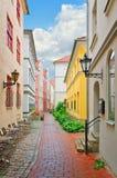 Smal Riga gata Fotografering för Bildbyråer