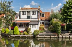 Free Smal Wooden House And Garden In Edam Royalty Free Stock Photo - 109752105