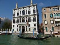 Smala gator av Venedig Arkivbild