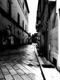 Smala gator i söder av Italien royaltyfria bilder