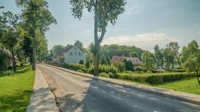 Smalininkai (Lithuania). Former German city Schmalleningken Royalty Free Stock Photography