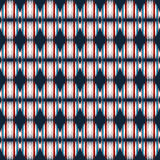Small abstract seamless pattern on a black background. (vector eps 10 Royalty Free Stock Image