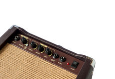 Small acoustic guitar amplifier isolated Stock Photos