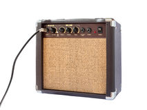 Small acoustic guitar amplifier Royalty Free Stock Image