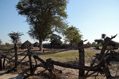 Small African Settlement Royalty Free Stock Photography