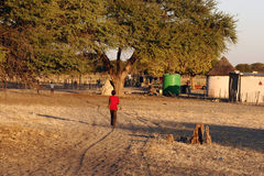 Small African Village Royalty Free Stock Images