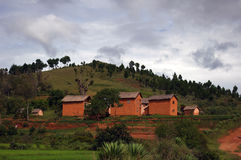 Madagascar village. Stock Images